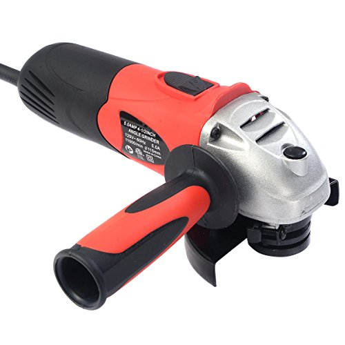 "Goplus Heavy Duty 5.0 amp 4 1/2"" Corded Electric Angle Grinder 11000RPM Portable New"