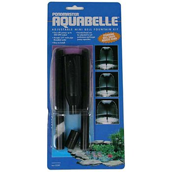 Pondmaster Kit Fountain - Pondmaster 02089 Mini Bell Aquabelle Fountain Head Kit