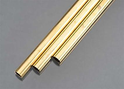 KS Precision Metals 9219 Round Brass Tube 9 16 OD X 0029 Wall
