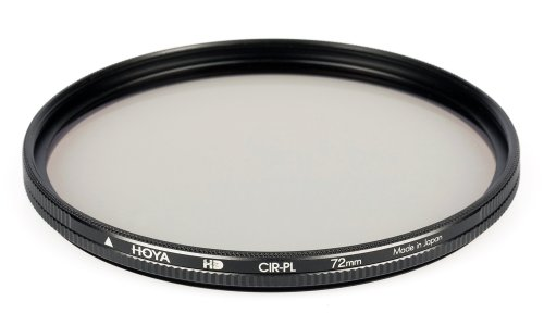 Hoya 72mm Circular Polarizer HD Hardened Glass 8-layer Multi-Coated Filter (Polarizer Hd Hoya)