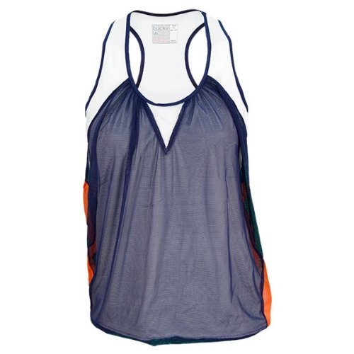 Lucky In Love Mesh Layered Tank (XSmall)