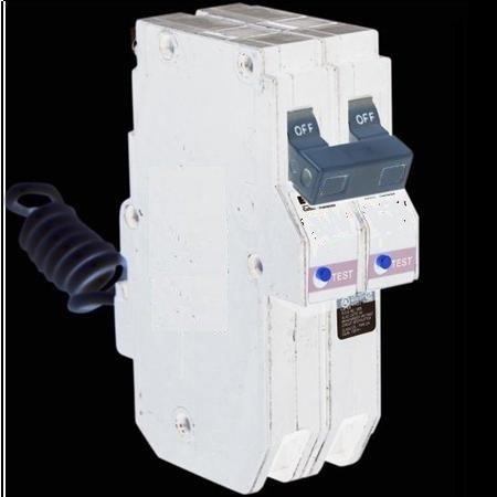 Cutler-Hammer, Eaton, Westinghouse ch sereis 2 pole 15 amp arc fault circuit breaker