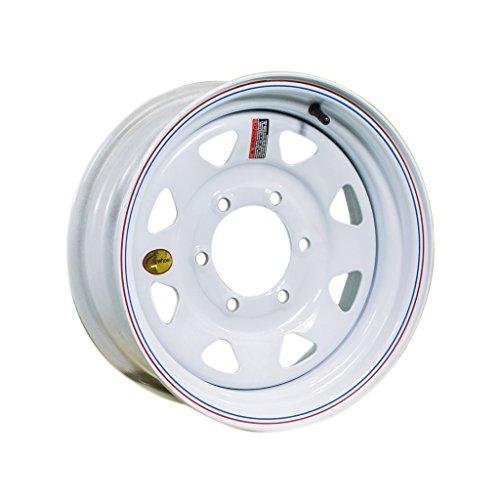 - Arcwheel White Spoke Steel Trailer Wheel - 15