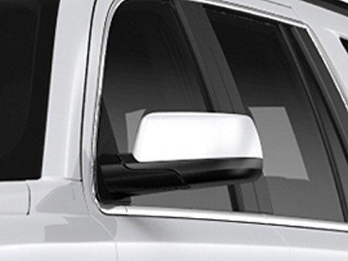 (QAA FITS Suburban/Tahoe 2015-2019 Chevrolet, Yukon 2015-2019 GMC (2 Pc: ABS Plastic Mirror Cover Set, 4-Door, SUV) MC55195)