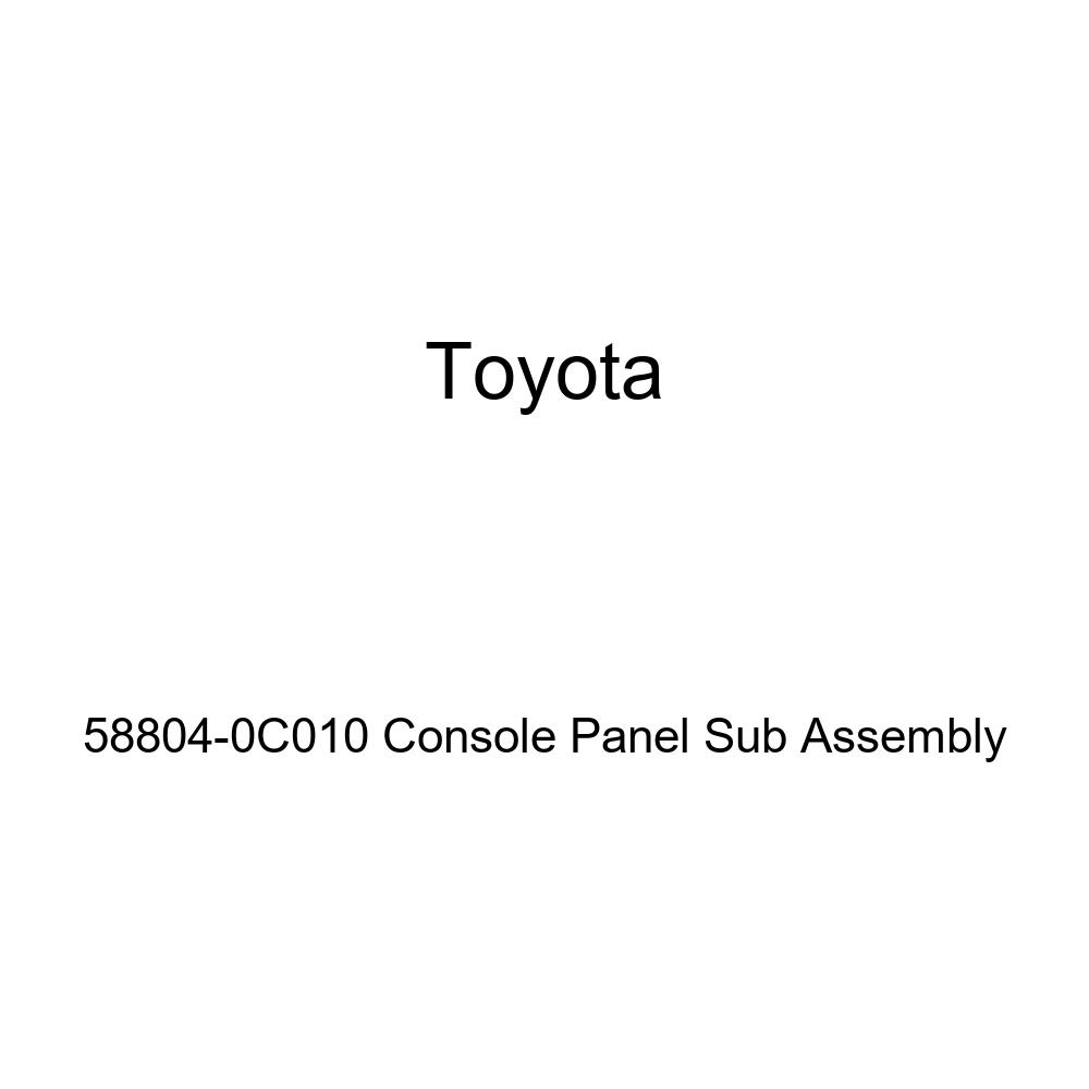 TOYOTA Genuine 58804-0C010 Console Panel Sub Assembly