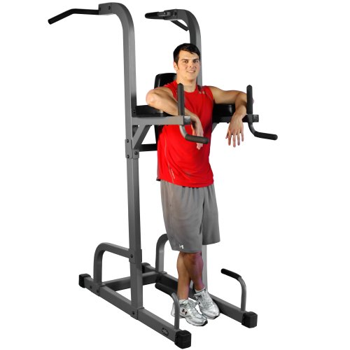XMark VKR Vertical Knee Raise with Dip and Pull up Station Power Tower XM 7617