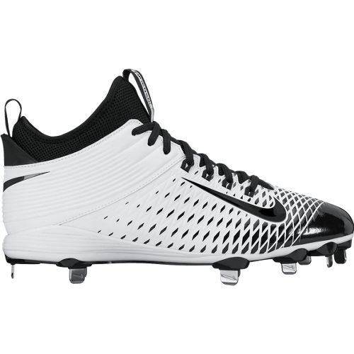 Nike Trout 2 Pro Metal Cleat White/Black 12.5 807133-100-12.5 RRYDap7