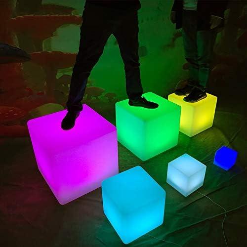 Hq led cube mood lampe de table extérieur intérieur IP44 blanc//rgb model-hqsledtlamp
