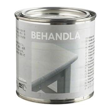 Ikea Lasur ikea behandla lasur weiß 0 375 liter amazon de küche haushalt