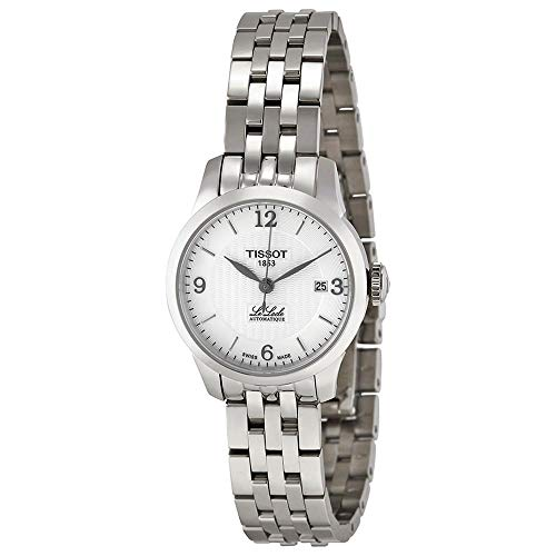 (Tissot Women's Le Locle Swiss-Automatic Watch with Stainless-Steel Strap, Silver, 11 (Model: T41118334)