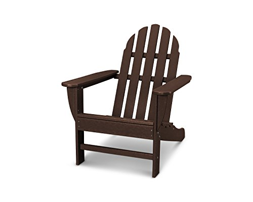assic Outdoor Adirondack Chair, Mahogany ()