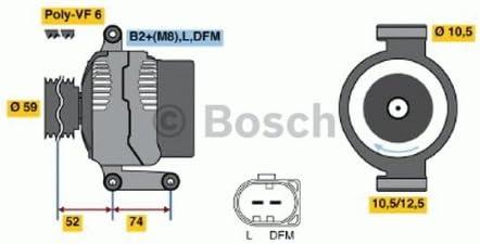 Bosch 986047910 Lichtmaschine