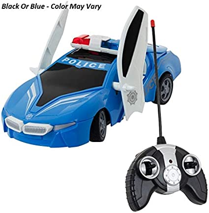 New Children Police Remote Control Police Car 1:20 Scale Full Function Good Toy