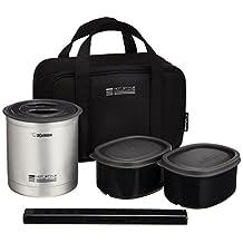Zojirushi Thermal Lunch Box BENTO BAKO | SZ-MA04-SU Black (japan import)