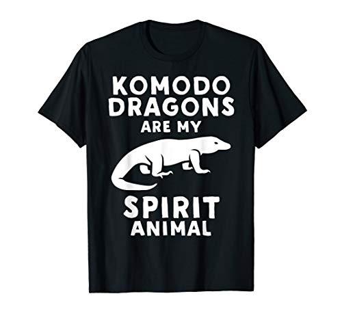 Komodo Dragons Are My Spirit Animal - Funny Komodo T-Shirt