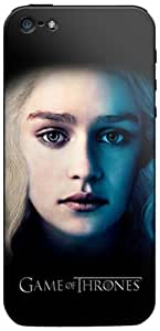 Zing Revolution Game of Thrones Premium Vinyl Adhesive Skin for iPhone 5, Daenerys Targaryen (MS-GOT470318)