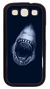 Samsung Galaxy S3 I9300 Cases & Covers - Shark Jaws Custom PC Soft Case Cover Protector for Samsung Galaxy S3 I9300 - Black