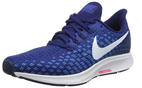 cd253ec3edfe5 Nike Men's Air Zoom Pegasus 35 Running Shoes (14 D US, Indigo  Force/White-Photo Blue)