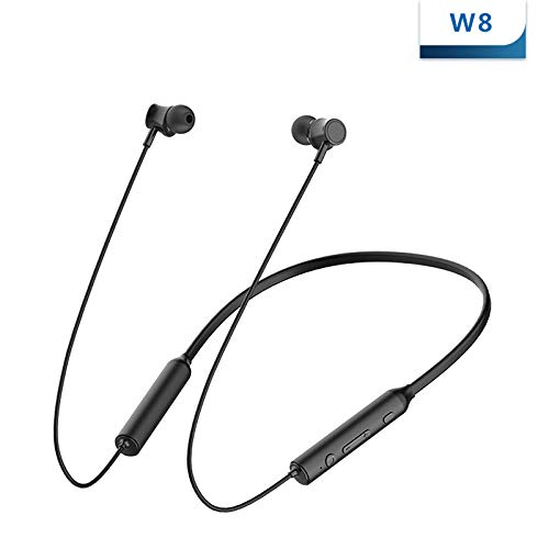 JHMAOYI Headphone Neck Hanging Sport Bluetooth Headset Aktive Rauschunterdrückung Wireless Mini Running Hanging Neck…