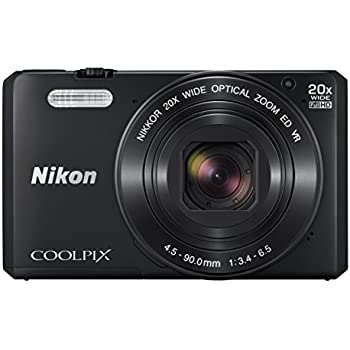 Nikon Coolpix S7000 16 MP Digital Camera with 20x Optical Image Stabilized Zoom 3-Inch LCD (Black)