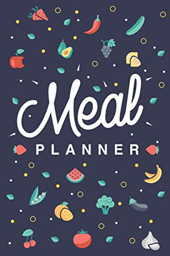 Meal Planner & Grocery List: Plan Weekly Meals & Keep Track of Your Grocery List for 52 Weeks (Small Size 6x9)