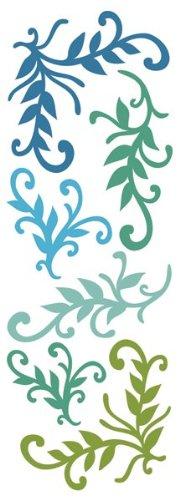 Momenta Puffy Flourish Sticker, Earth Inc. ST-3104