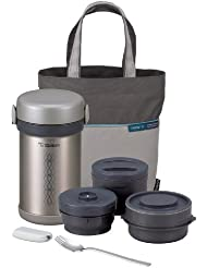 Zojirushi ZONCE09ST Ms. Bento Stainless-Steel Vacuum Lunch Jar, 28.5-Ounce