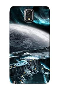 New Galaxy Note 3 Case Cover Casing(moon Base)