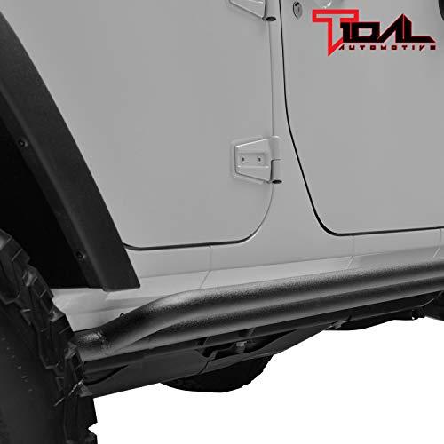 07-18 Jeep Wrangler JK 4 Door Side Armor Rock Guards