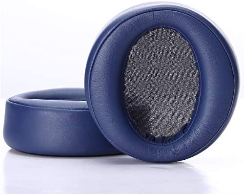 with PU Leather Bag Soft Protein Leather Memory Foam Over-Ear Ear Cushions Sony Headset Repair Accessories Blue Krone Kalpasmos Replacement Ear Pads for Sony MDR-XB950BT MDR-XB950B1 Headphones