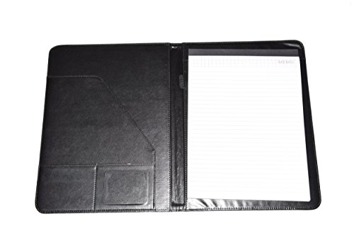 Leather Portfolio Folder, 2 Professional Leather Padfolio Folders, Great for Your Office, for College Students or for Carrying Your Resume to Job Interviews by Keeble Outlets (Image #2)