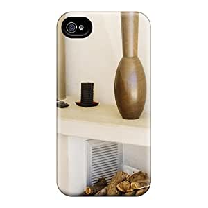 Cute High Quality Iphone 4/4s Fire Place Case