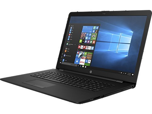 2018 HP 17.3-inch 17z HD+ (1600 x 900) Laptop PC – AMD Dual-Core A9-9420, 8GB DDR4 RAM, 1TB HDD, HDMI, DVD Writer, USB 3.1, Windows 10, Jet Black