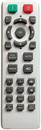 Calvas Remote Control For BenQ Projector CP2611 EN6110 HT1070A/ MH534 SP0531 TH671ST TW533 TW535/ W1050S MH535 MH550