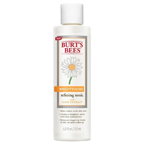 Burt's Bees Brightening Refining Tonic- Removes Lingering Traces of Dirt, Oil & Make-Up 6 oz (177 ml) 2 Pack
