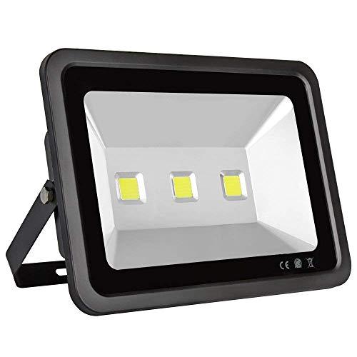 500w Floodlight - Dimgogo 150W Outdoor Super Bright LED Floodlights, 500W HPS Bulb Equivalent, 6000K, Daylight White, 15000lm, Security Powered Led lighting for Garden Landscape, AC 85V-265V