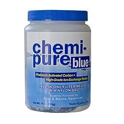 Boyd Enterprises Chemi-Pure Filtration Media for Aquarium, 11-Ounce, Blue