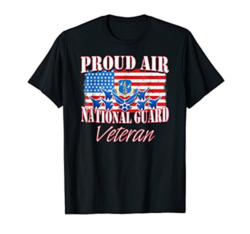 Proud Air National Guard Veteran Shirt USA Air Force
