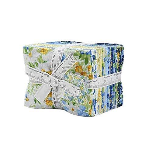 Summer Breeze V Fat Quarter Bundle 27 Precut Cotton Fabric Assortment by Moda Fabrics, 33300AB by Moda Fabrics (Image #2)