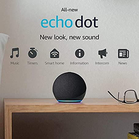 All-new Echo Dot 4th Gen