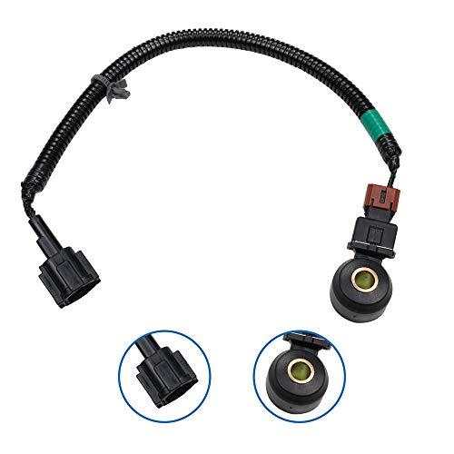 TURBOSII Knock Sensor w/Wiring Harness For Infiniti G20 I30 J30 M30 Q45 QX4 NISSAN 200SX 240SX 300ZX ALTIMA D21 FRONTIER LUCINO MAXIMA NX PATHFINDER QUEST 2206030P0 ()