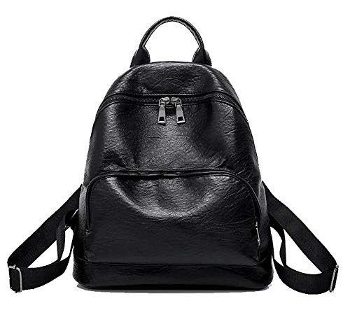 PU Noir Mode Achats Femme Sacs fourre à Cuir AalarDom bandoulière Tout Zippers Noir Sacs TSFBG182215 ZwORqnqcX