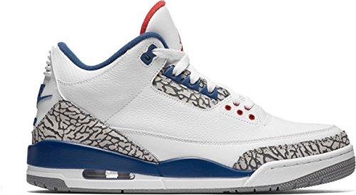 Nike Men's Air Jordan 3 Retro OG White – 13 D(M) US