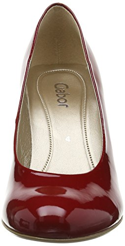 Escarpins Fermé Gabor Lavender Absatz Femme Bout Cherry P Rouge Shoes OwOaqPf