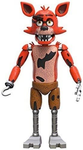 Amazon Com Funko Five Nights At Freddy S Articulated Foxy Action Figure 5 Funko Articulated Action Figure Toys Games