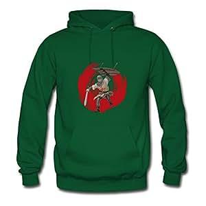 Theresawilkins Knight Print Sweatshirts X-large For Women Green