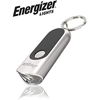 Black Micro Key Chain EDC Pinch Light Bright White LED