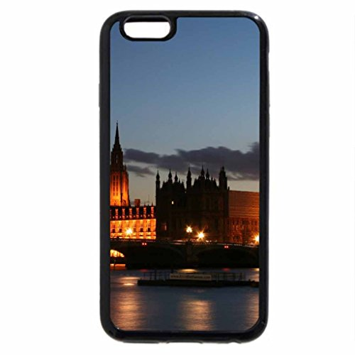 iPhone 6S / iPhone 6 Case (Black) The Palace of Westminster, Elizabeth Tower Clock Tower