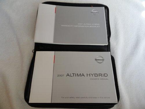 Nissan 2007 Altima NEW Original Owners Manual - Brochure Manual Guide