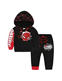 XYSSWW Baby Boy Spider Man Sports Suits Kids 2pcs Sets Spring Autumn Clothes Tracksuits